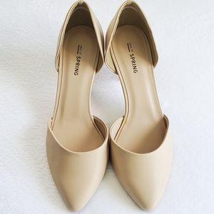 CALL IT SPRING Gworewiel nude heels